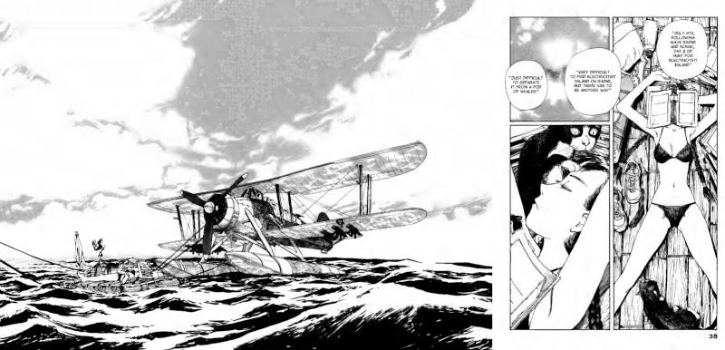 El Fairey Swordfish, Amelia y Endeavour.