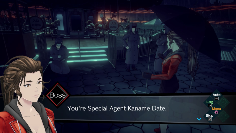 You're Special Agent Kaname Date