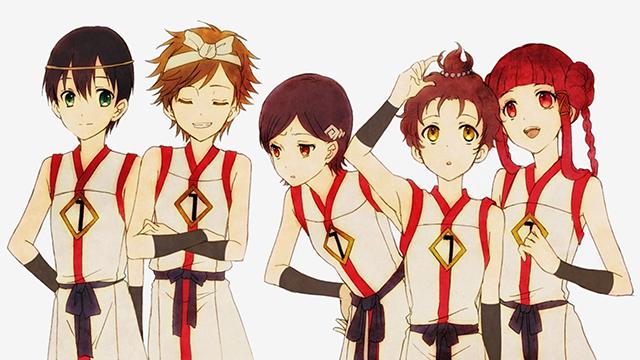 Protagonistas de Shin Sekai Yori